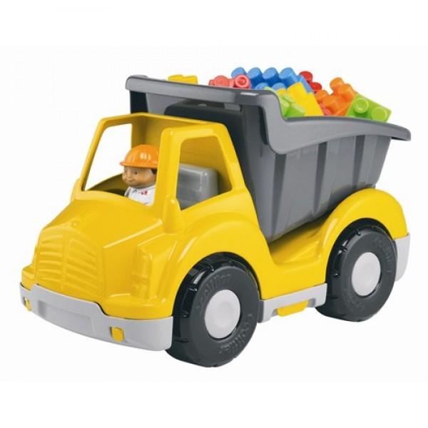 Camion cu 20 de cuburi si o figurina