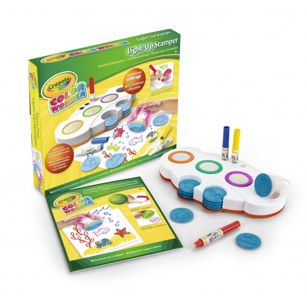 .Crayola Color Wonder light up stamper