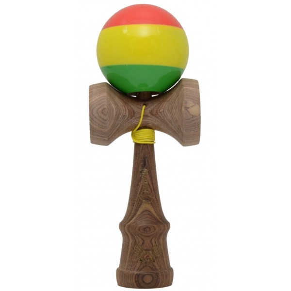 Kendama Bull Gravity sticky rasta